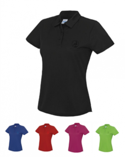 Dame performance polo Logo In-tone